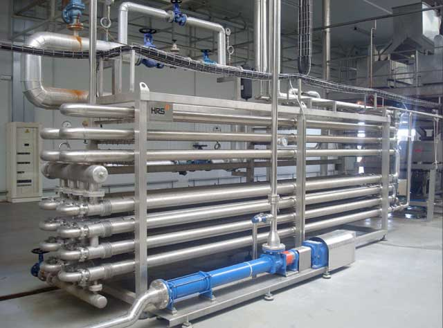 کاربرد مبدل های حرارتی لوله ای در صنایع غذایی