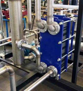 کاربرد مبدل های حرارتی صفحه ای در صنایع لبنیاتی