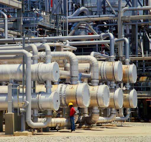 کاربرد مبدل های حرارتی پوسته و لوله در پالایشگاه نفت