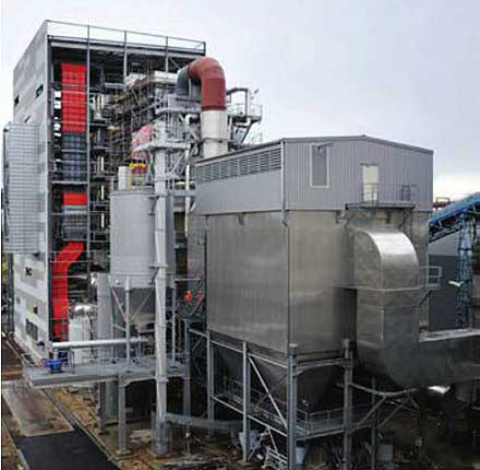 نیروگاه تولید همزمان برق و حرارت در فرانسه