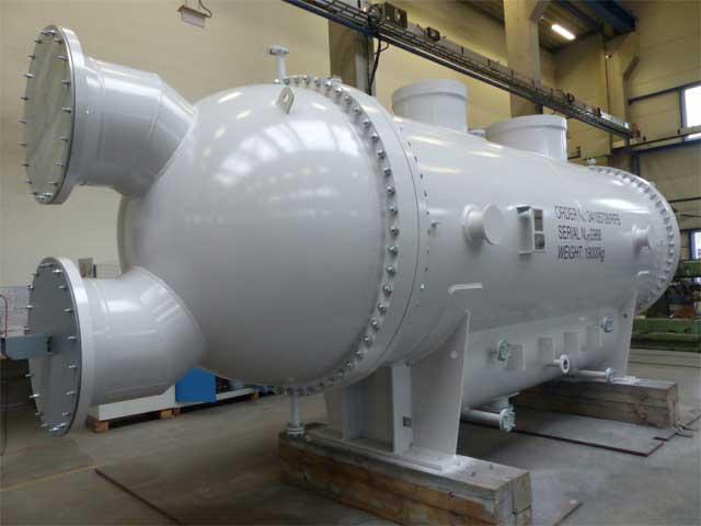 کندانسور آبی صنعتی (کندانسور بخار)