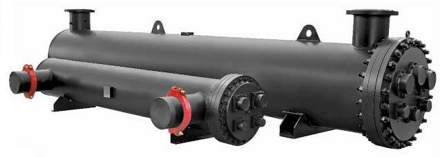 مبدل حرارتی پوسته و لوله و کاربرد آن در چیلر تراکمی آب خنک