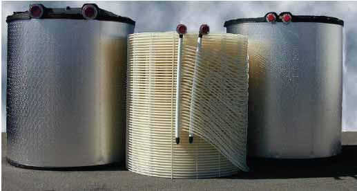 تانک یخ و کویل آن در سیستم آیس بانک