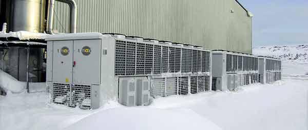 چیلرهای صنعتی با قابلیت کارکرد در فصل زمستان