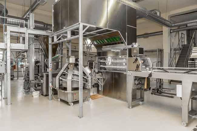هواساز هایژنیک در خطوط تولید صنایع غذایی