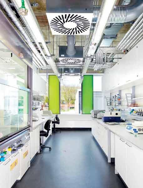 هواساز هایژنیک و تغذیه هوای بهداشتی در آزمایشگاه