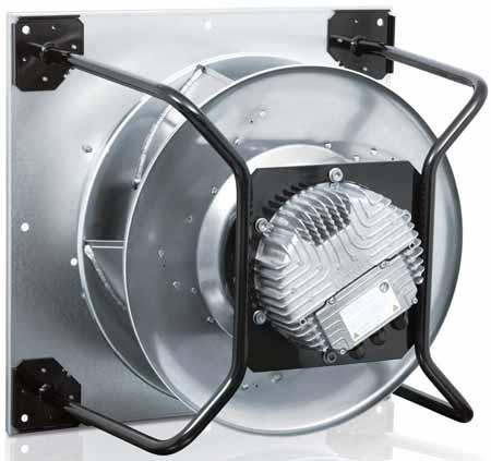 فن پلاگ با موتور EC در هواسازهای هایژنیک
