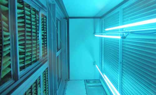 استفاده از لامپ های UV در هواسازهای هایژنیک